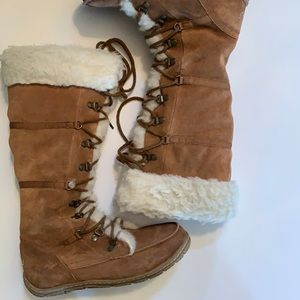 EMU Suede Wool Boots Size 7